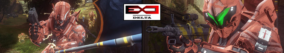 ExO Delta Gaming banner, a Halo 4 Clan